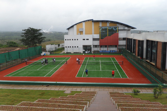Indoor Outdoor Basket Ball Court Installation Bangalore Kids Play